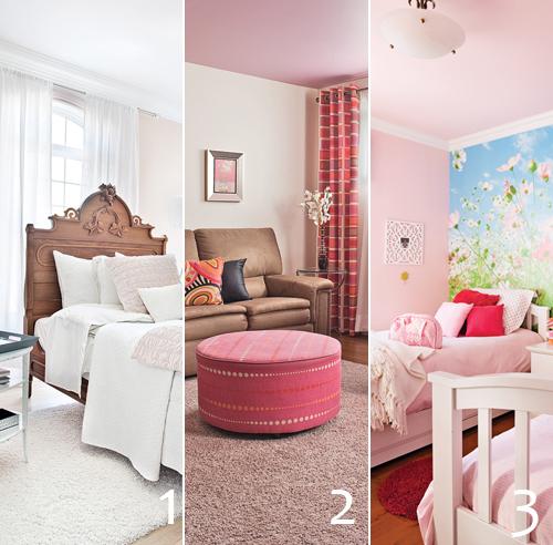 Chambre Rose Et Blanc. Fabulous Chambre Rose Blanc Et Grise Idees