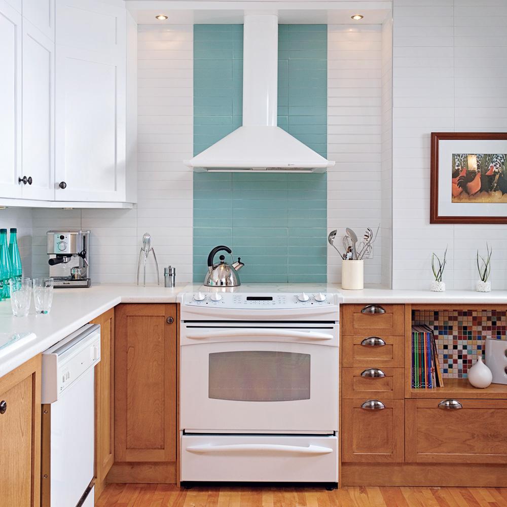 Cuisine clairement rétro   cuisine   avant après   décoration et ...