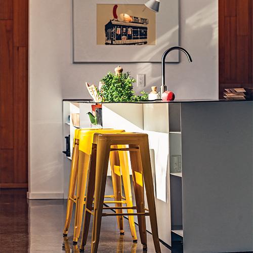 cuisine esprit industriel id es novatrices de la conception et du mobilier de maison. Black Bedroom Furniture Sets. Home Design Ideas
