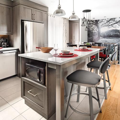 Cuisine fonctionnelle cuisine avant apr s d coration for Cuisine fonctionnelle et ergonomique