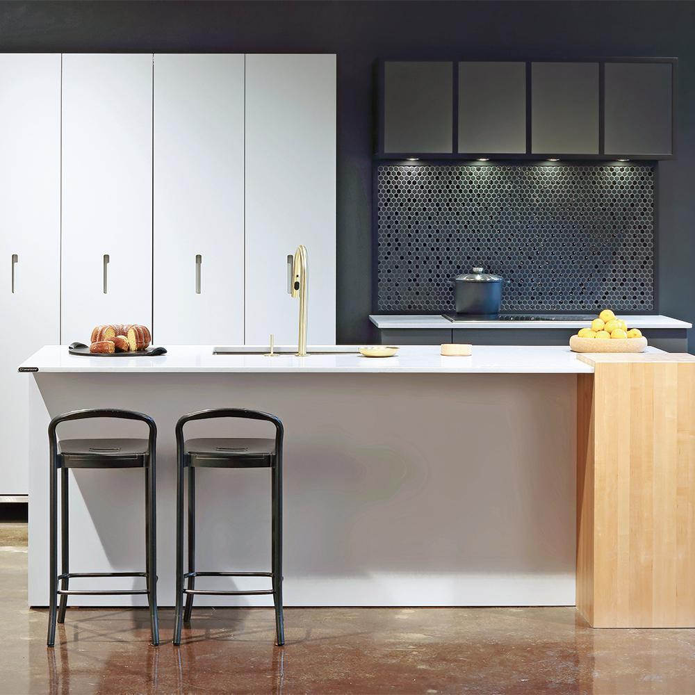 cuisine invisible cuisine inspirations d coration et r novation pratico pratique. Black Bedroom Furniture Sets. Home Design Ideas