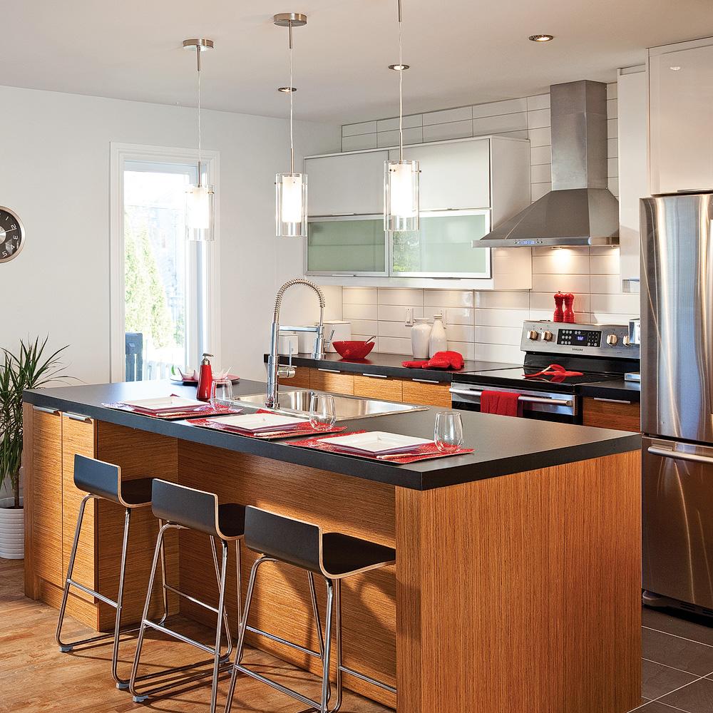 Cuisine moderne deco avec des id es for Deco moderne cuisine