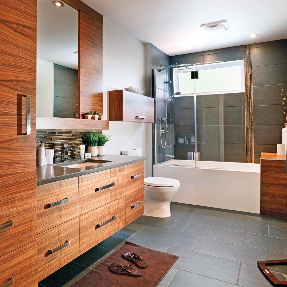 Cure de jeunesse pour la salle de bain salle de bain for Salle bain avant apres