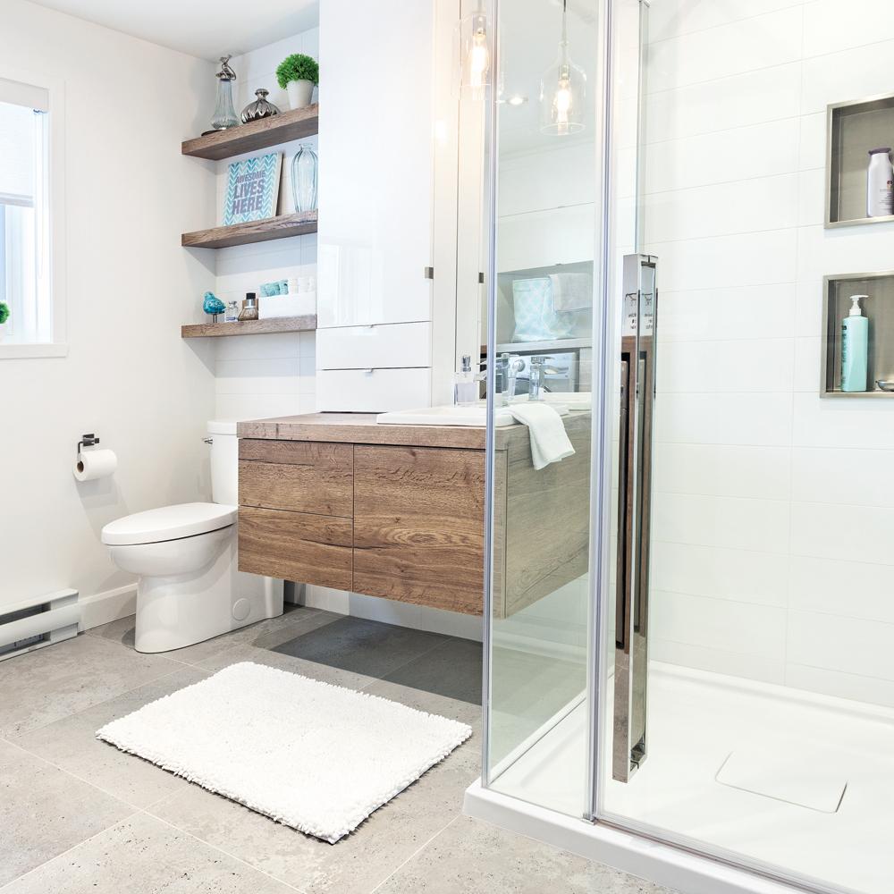 Transfo payante la salle de bain salle de bain avant apr s d coration - Salle de bain avant apres ...