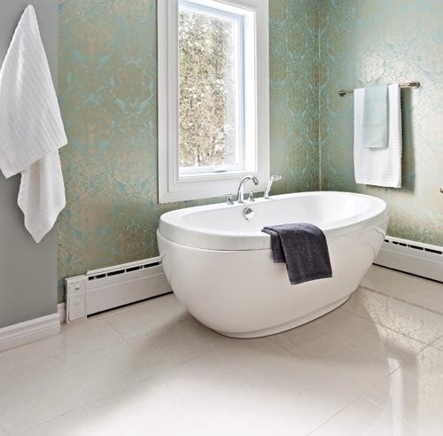 Papier peint lessivable salle de bain quel papier peint for Papier peint pour salle de bain
