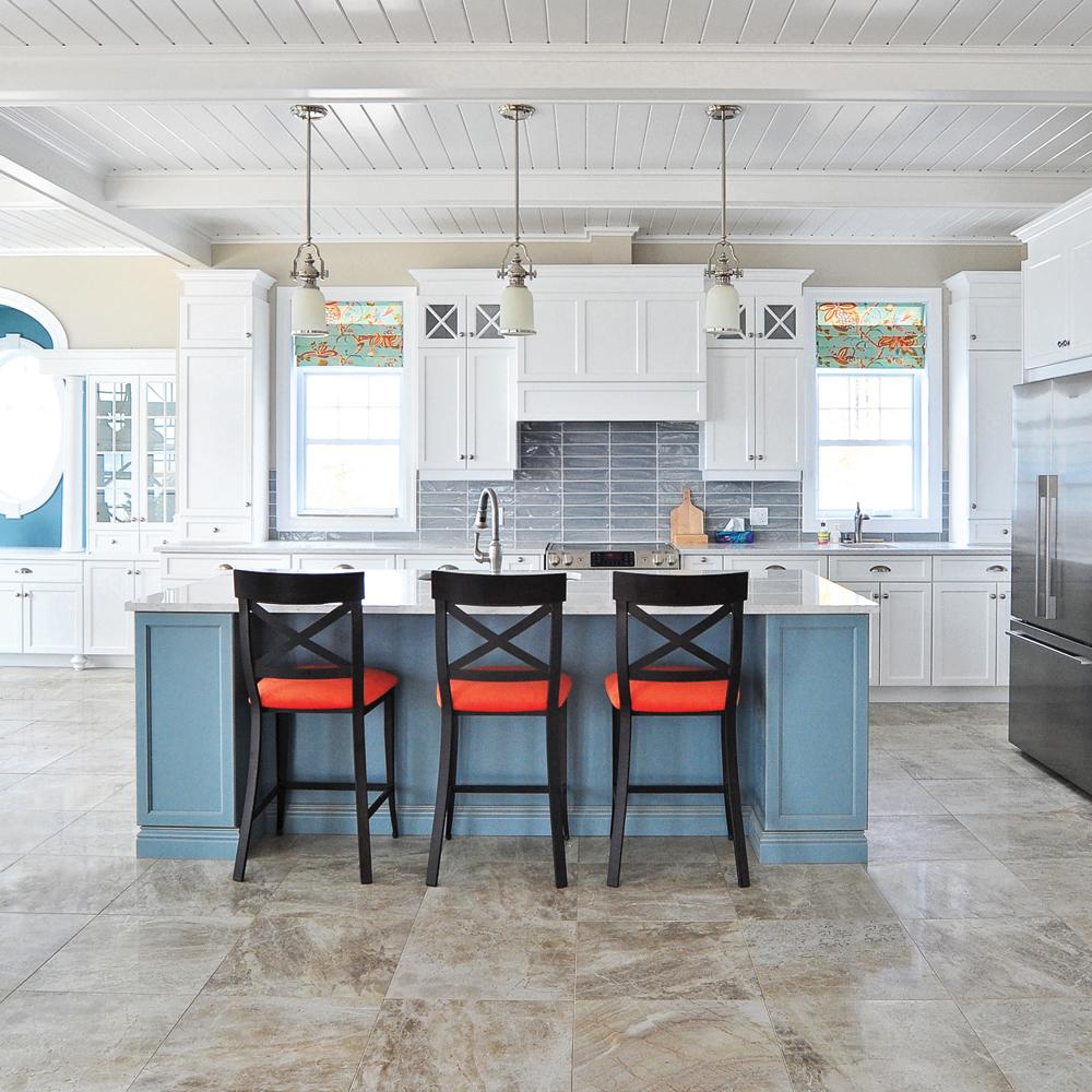 Esprit bord de mer cuisine inspirations d coration for Decoration exterieur bord de mer
