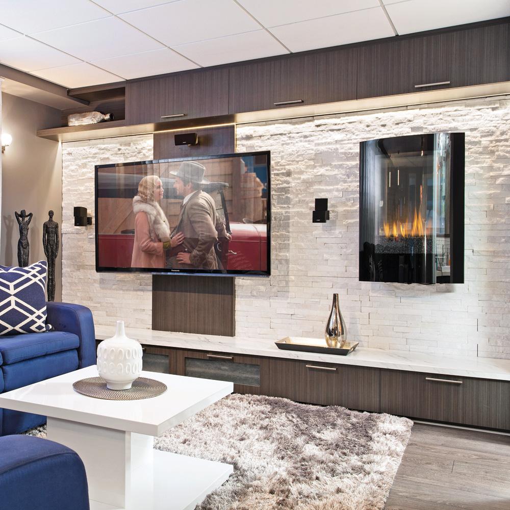 au sous sol ou au salon un cin ma maison pictures to pin. Black Bedroom Furniture Sets. Home Design Ideas