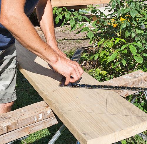 Fabriquer un escalier de patio  En étapes  Jardinage et extérieur