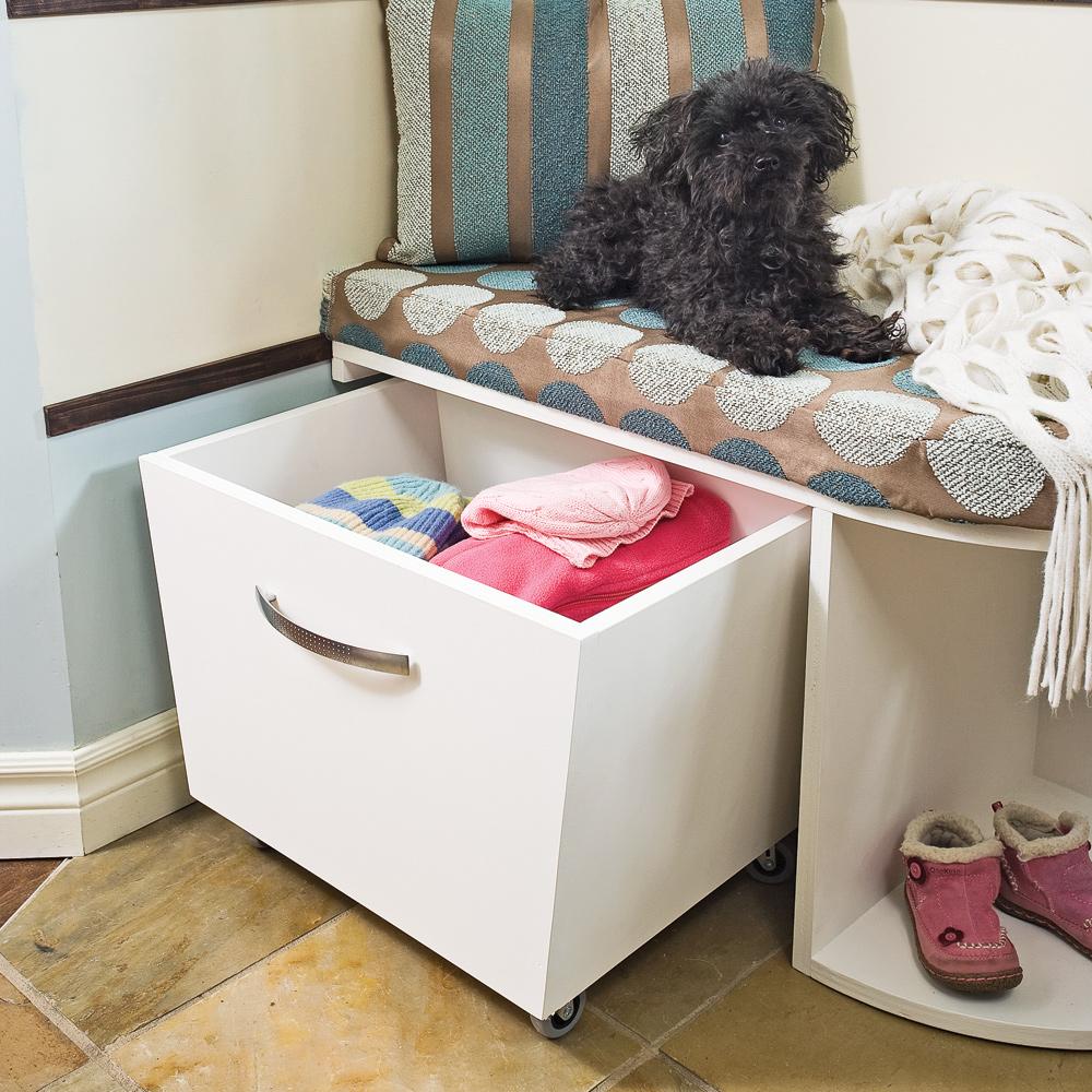 fabriquer un meuble de rangement pour le hall plans et