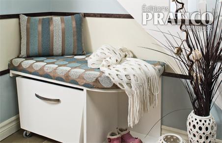 fabriquer un meuble de rangement pour le hall plans et. Black Bedroom Furniture Sets. Home Design Ideas