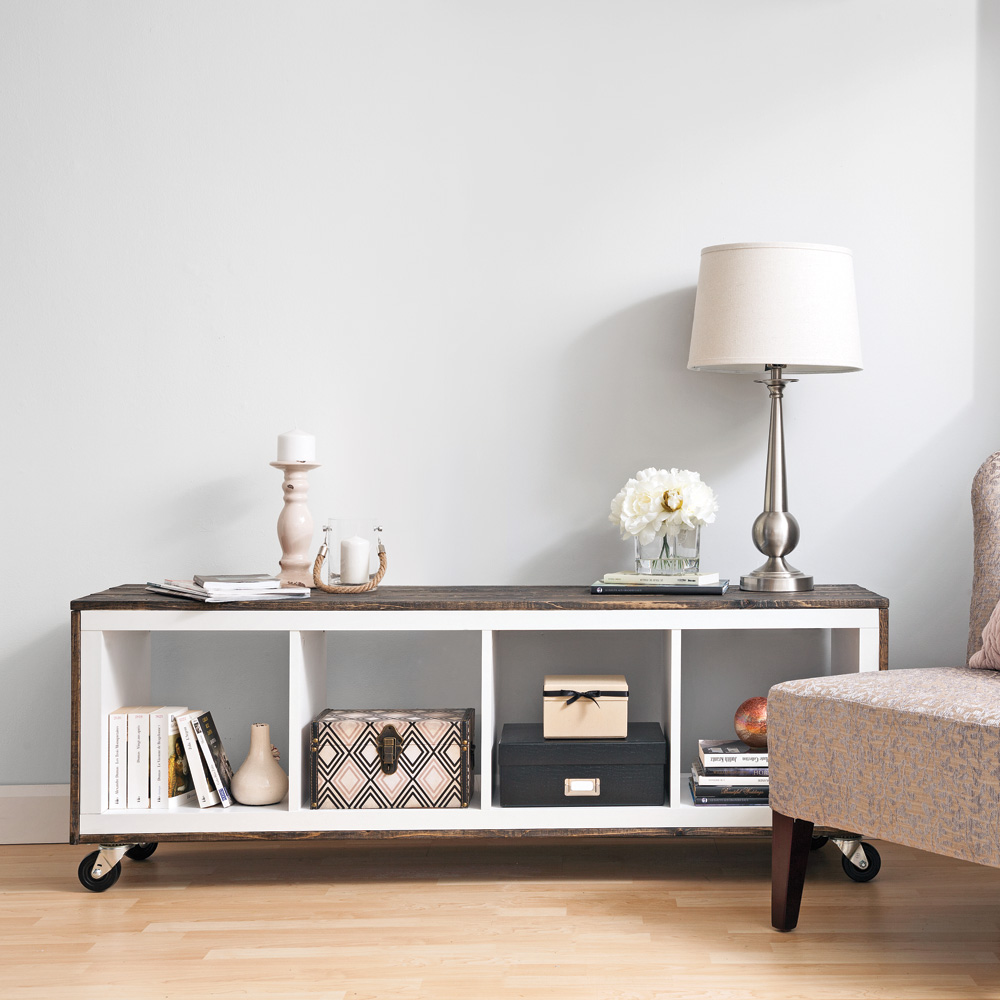 fabriquer un meuble de style rustique en tapes. Black Bedroom Furniture Sets. Home Design Ideas