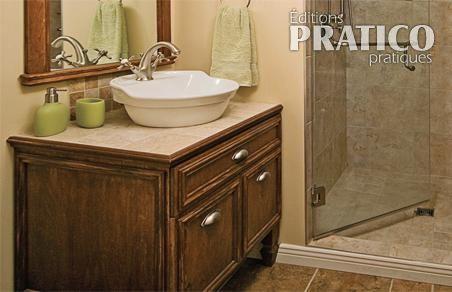 Fabriquer un meuble lavabo plans et patrons d coration - Creer son meuble de salle de bain ...