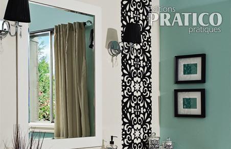 R aliser une salle de bain salle de bain bordeaux for Installer miroir salle de bain
