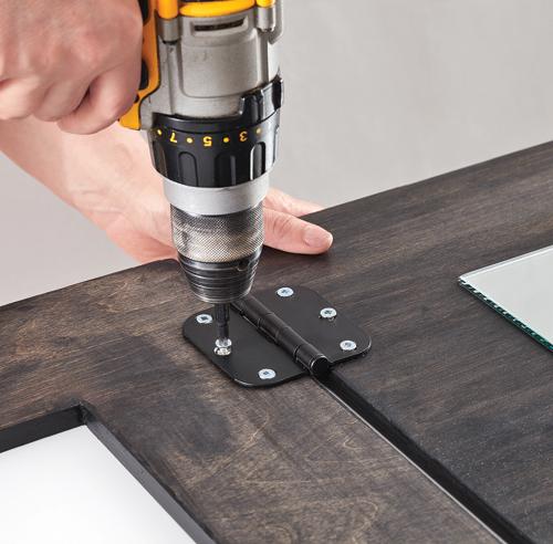 Fabriquer une table pliante - Fabriquer une table murale rabattable ...