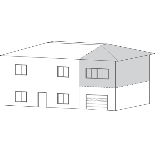 Faire un agrandissement combien a co te trucs et conseils d coration e - Combien coute un garage ...