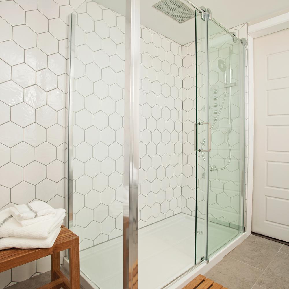 En étapes: faites votre douche en céramique avec notre expert   en ...