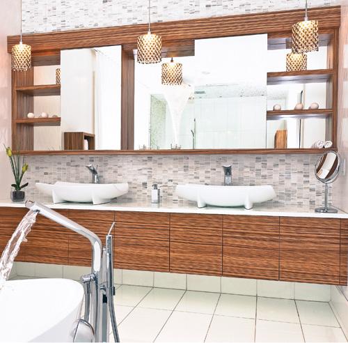 Fantaisie moderne salle de bain inspirations for Voir salle de bain moderne