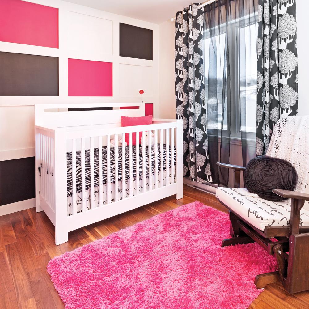 Deco chambre bebe noir et blanc for Photo pour la chambre