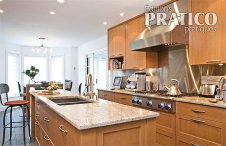 Le granit pour les comptoirs de la cuisine cuisine for Deco comptoir cuisine