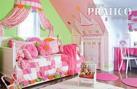 Chambre petite fille princesse solutions pour la for Chambre fille princesse