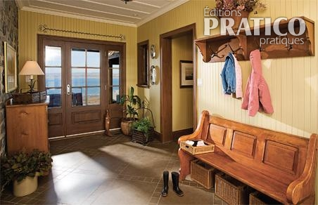 Rangement dans une maison d 39 antan hall d 39 entr e for Idee deco hall d entree maison