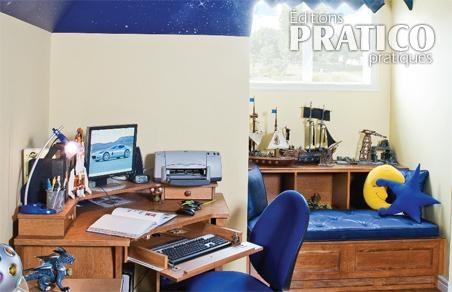 B timent brique decoration bureau de travail - Decoration bureau travail ...