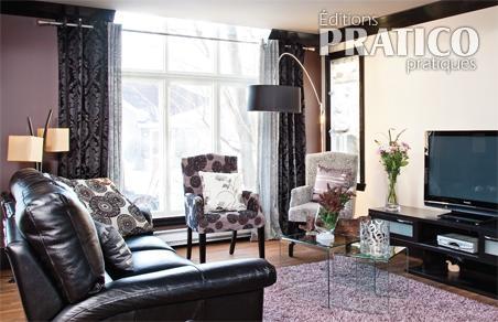 Look th tral dans un salon moderne salon inspirations d coration et r - Combien de couleur dans un salon ...