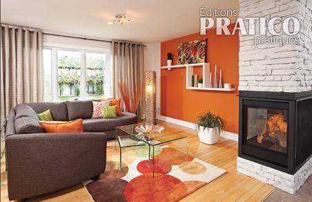 Un salon p tillant et chaleureux salon inspirations for Salon chaleureux