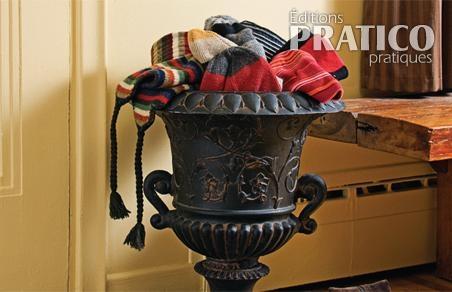 Id e originale pour ranger les accessoires d 39 hiver hall for Entree originale hiver