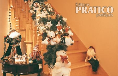 D corer l 39 escalier avec un coeur d 39 enfant inspirations d coration - Decoration escalier noel ...