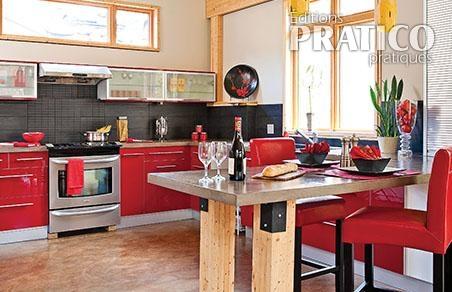 Une cuisine originale l 39 esprit industriel cuisine for Deco cuisine originale