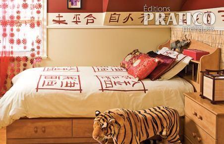 Chambre chinoise chambre inspirations d coration et r novation pratico pratique - Chambre chinoise ...