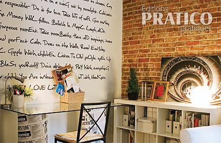 dessiner sur les murs bureau inspirations d coration