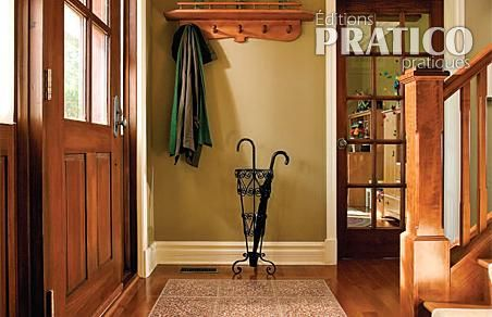 Un hall d entr e plus pratique pictures to pin on pinterest - Comment amenager un hall d entree ...