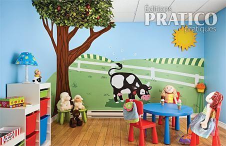 D coration salle de jeux nature - Idee deco salle de jeux ...
