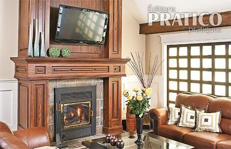 Foyer l gant dans un chic salon salon inspirations for Foyer salon de provence