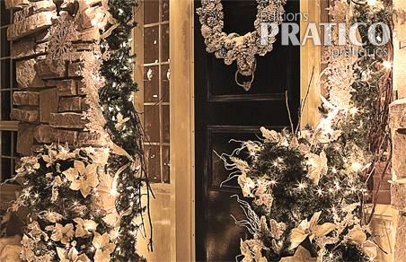 Un d cor de no l givr pour l 39 ext rieur inspirations for Decoration exterieur hiver