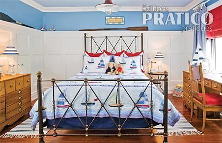 décoration chambre nautique