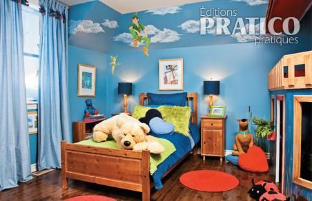 Emejing Idee Deco Chambre Garcon 5 Ans Pictures - Amazing House ...