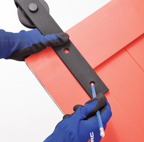 En tapes installer une porte coulissante sur rail en tapes d coration et r novation - Installer porte coulissante sur ancienne porte ...