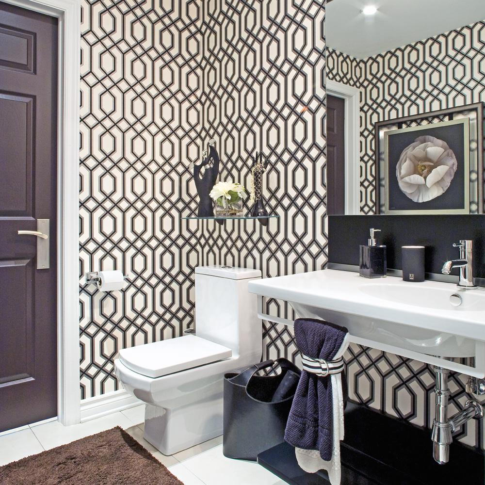 Le noir pour la salle de bain salle de bain for Decoration salle d eau