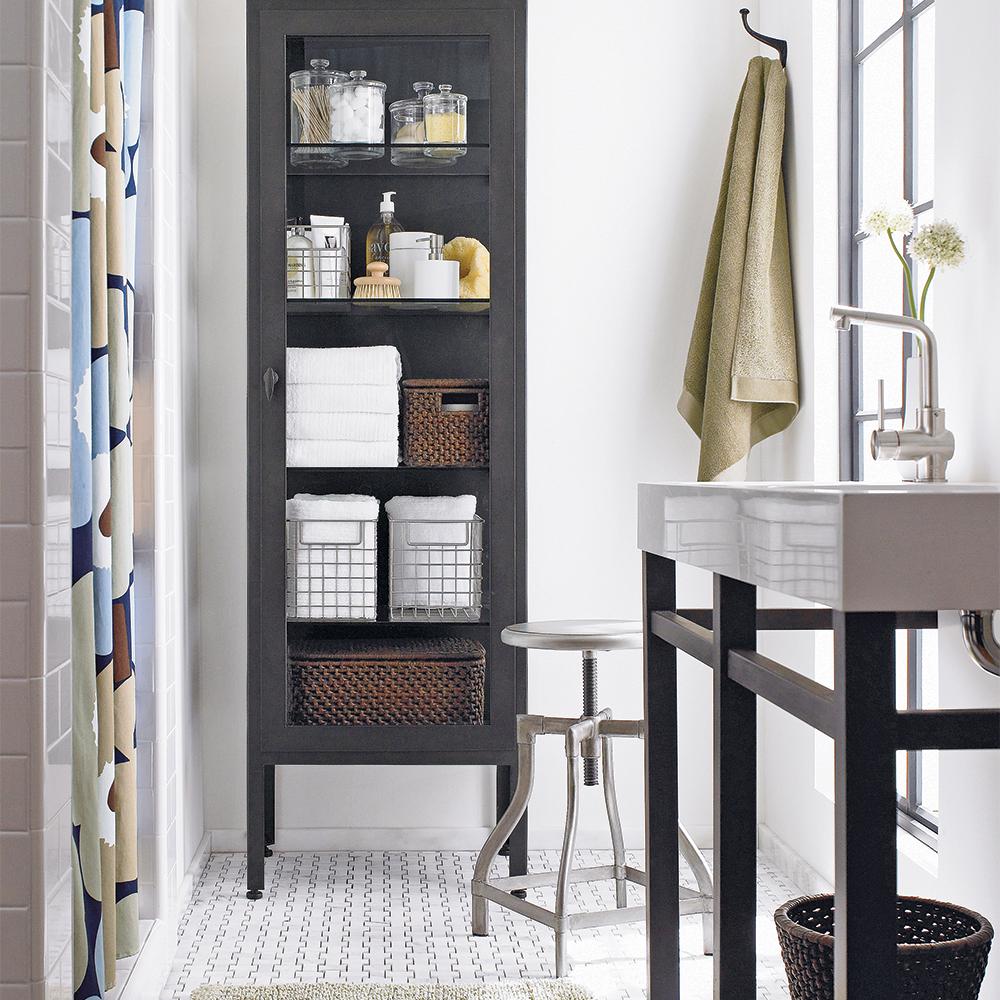 le rangement de style apothicaire salle de bain inspirations d coration et r novation. Black Bedroom Furniture Sets. Home Design Ideas