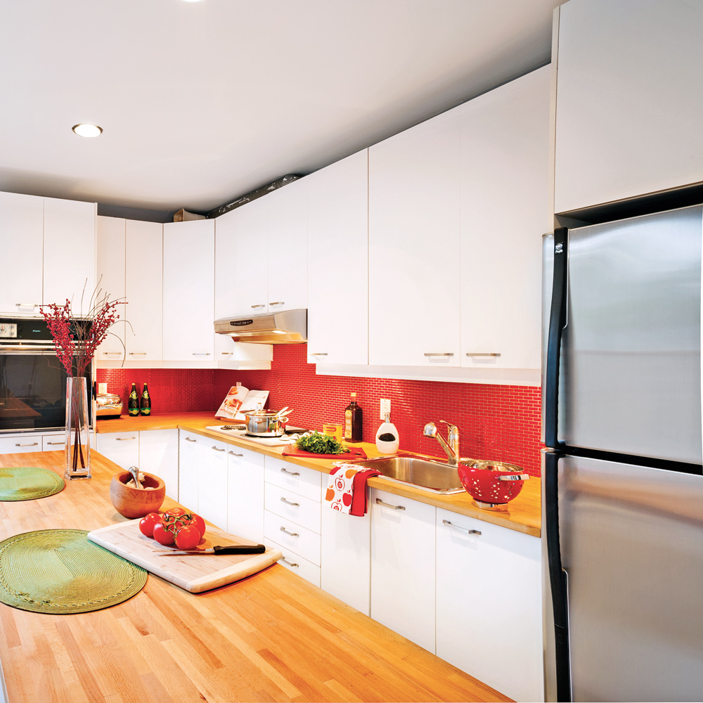 Le secret de la cuisine est dans le dosseret cuisine for Decoration cuisine dosseret