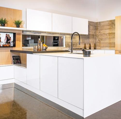 Les decoratives tendance cuisine trois nouvelles cuisines for Les decoratives tendance cuisine