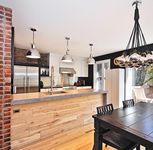 Les 10 matières tendance pour la cuisine - Galeries de décors ...