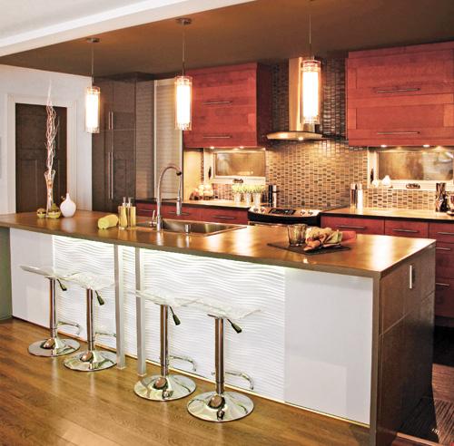 Les 10 mati res tendance pour la cuisine galeries de for Cuisine 3d quebec