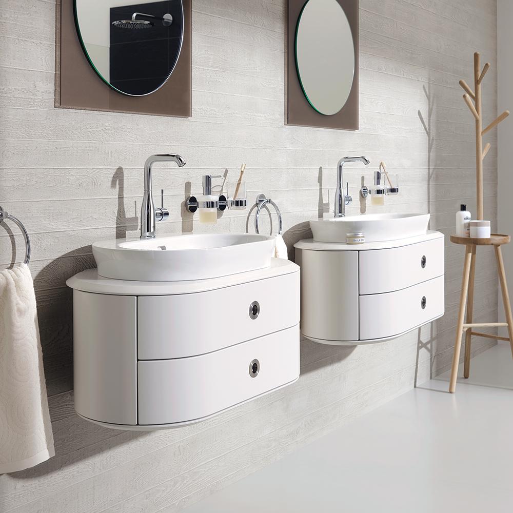 Tendance salle de bain les formes rondes et minimalistes for Tendance deco salle de bain