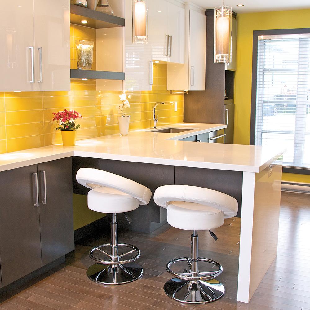 Indogatecom Decoration Cuisine Peinture Couleur - Meuble bar cuisine pour idees de deco de cuisine