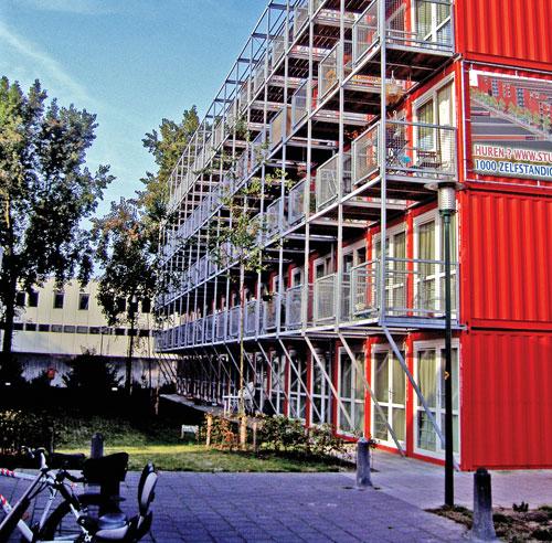 Les maisons conteneurs dossiers d coration et for Conteneur pour renovation