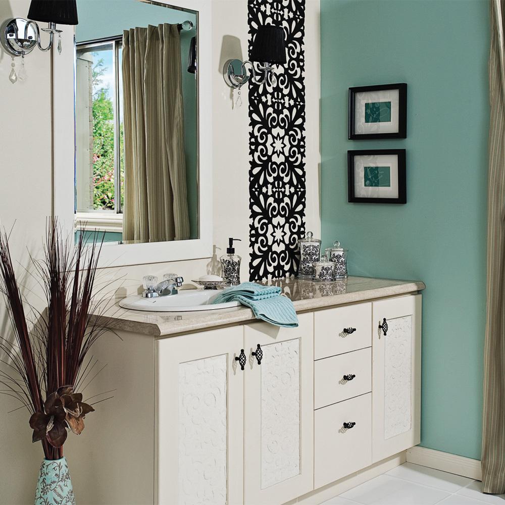 Meuble lavabo de son temps avant apr s d coration et for Lavabo plus meuble